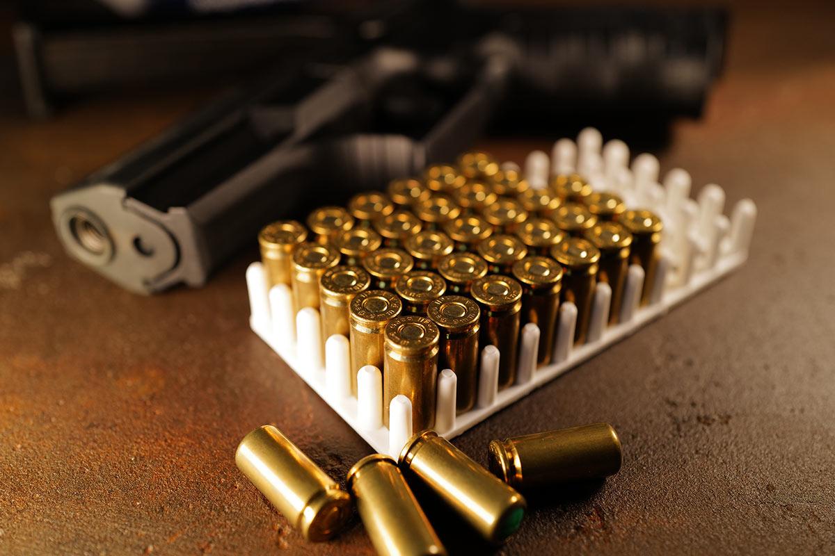 Schreckschusswaffe mit Munition Patronen