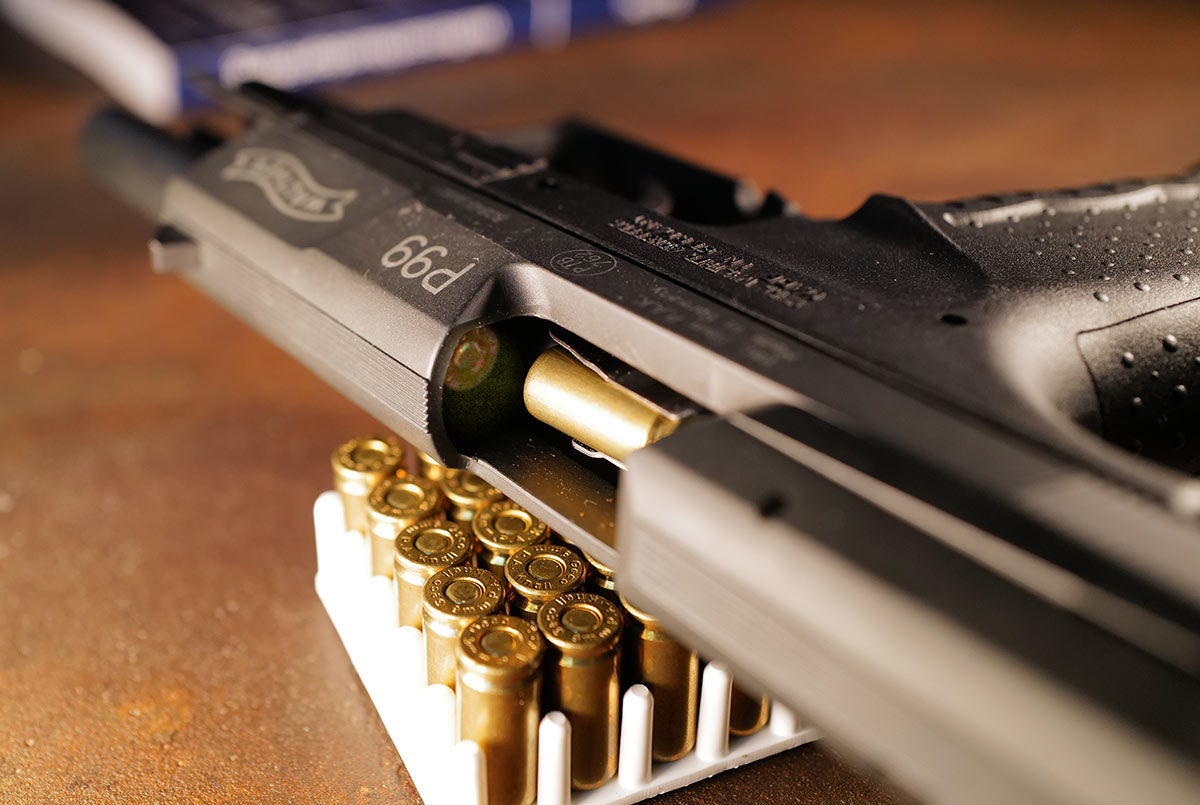 Schreckschusswaffe Munition Verschluss