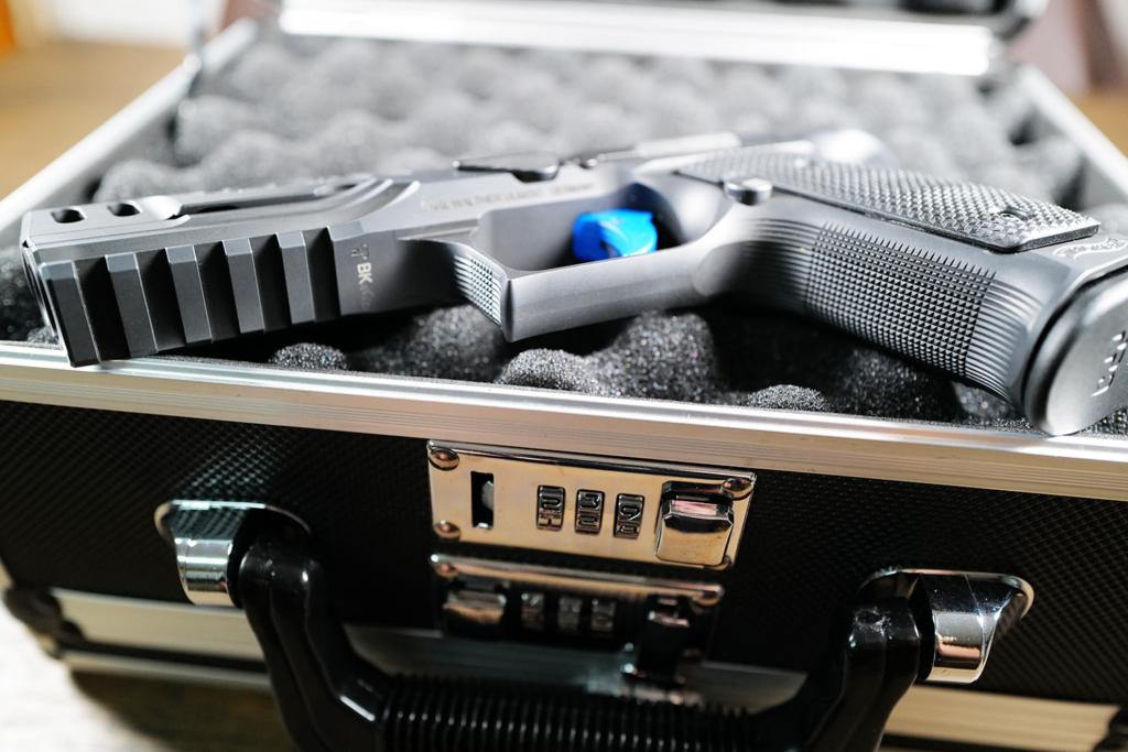 Waffenkoffer für Kurzwaffe