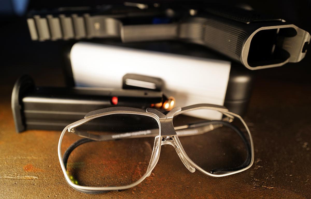 optische Schießbrille