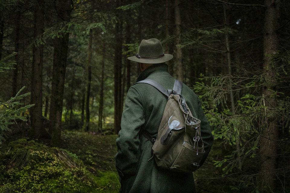 Jäger Bekleidung muss zweckmäßig sein